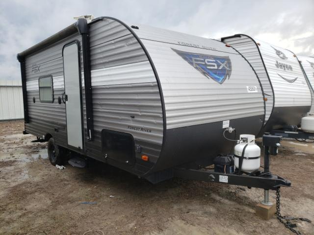 Salvage cars for sale from Copart Temple, TX: 2018 Wildcat Travel Trailer