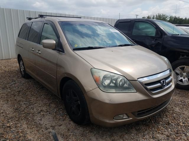 Salvage cars for sale from Copart Mercedes, TX: 2005 Honda Odyssey EX