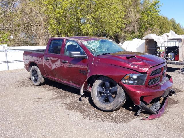 Salvage cars for sale from Copart London, ON: 2019 Dodge RAM 1500 Class