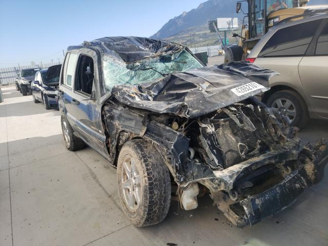 Salvage cars for sale from Copart Farr West, UT: 2002 Jeep Liberty LI