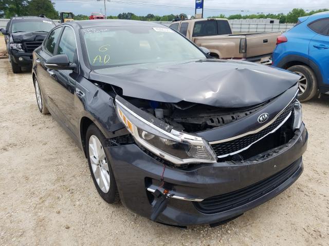 Salvage cars for sale from Copart Newton, AL: 2017 KIA Optima LX