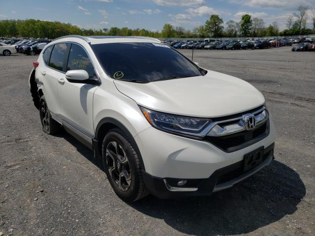 Honda Vehiculos salvage en venta: 2017 Honda CR-V Touring
