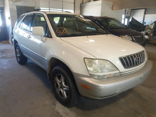 Salvage cars for sale from Copart Sandston, VA: 2002 Lexus RX 300