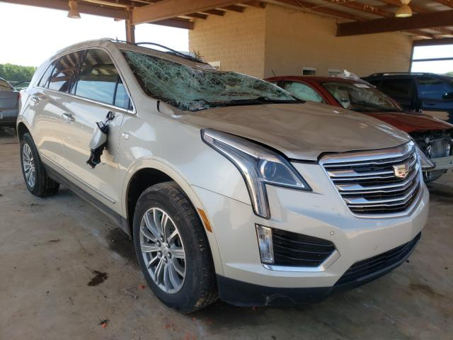 Salvage cars for sale from Copart Tanner, AL: 2017 Cadillac XT5 Luxury
