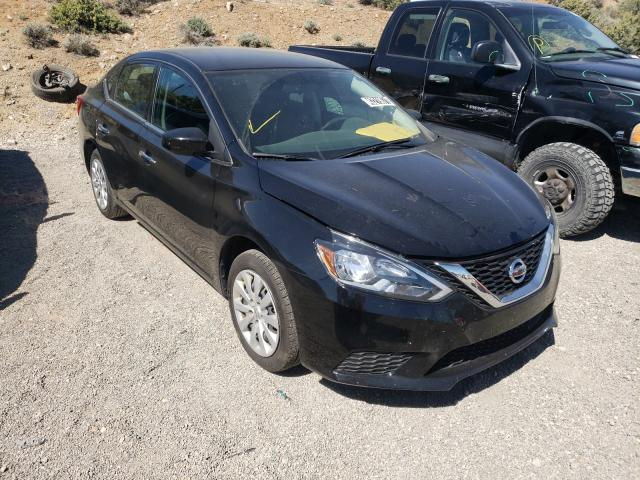Salvage cars for sale from Copart Reno, NV: 2019 Nissan Sentra S