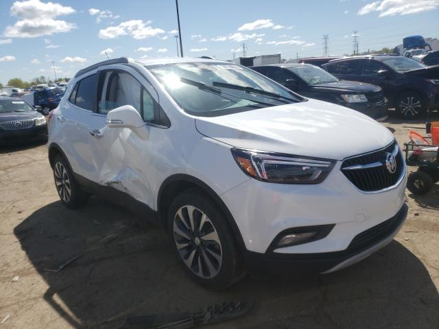 Salvage cars for sale from Copart Woodhaven, MI: 2020 Buick Encore ESS