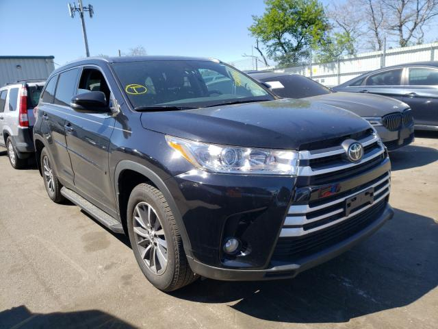 Salvage cars for sale from Copart Brookhaven, NY: 2019 Toyota Highlander