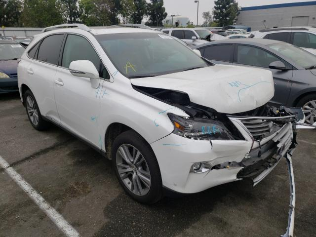 Salvage cars for sale from Copart Rancho Cucamonga, CA: 2015 Lexus RX 450H
