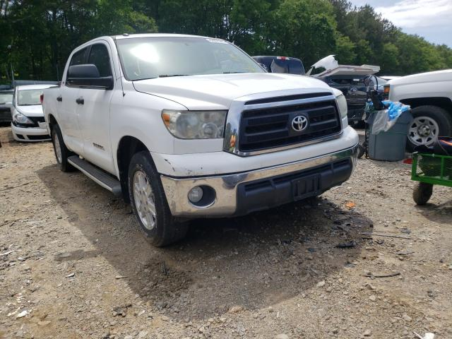Salvage cars for sale from Copart Austell, GA: 2011 Toyota Tundra CRE