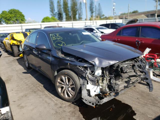 Salvage cars for sale from Copart Miami, FL: 2018 Honda Accord LX