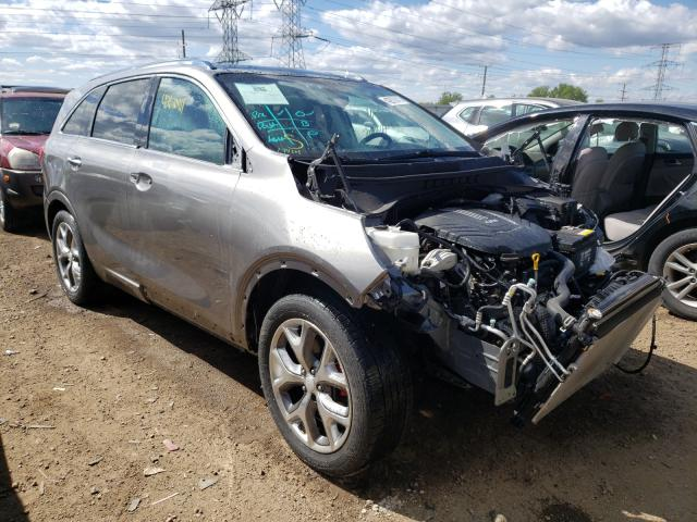 KIA Sorento SX salvage cars for sale: 2016 KIA Sorento SX