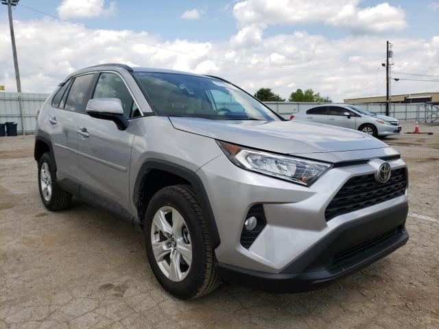 Salvage cars for sale from Copart Lexington, KY: 2021 Toyota Rav4 XLE