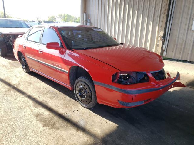 Salvage cars for sale from Copart Fort Wayne, IN: 2000 Chevrolet Impala LS