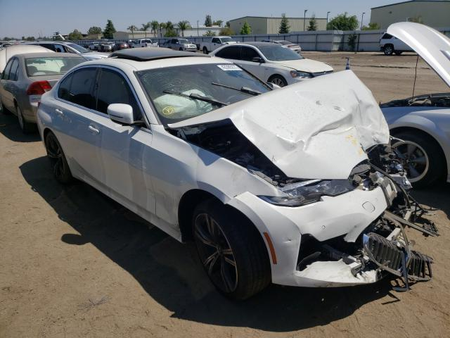 Salvage cars for sale from Copart Bakersfield, CA: 2020 BMW 330I