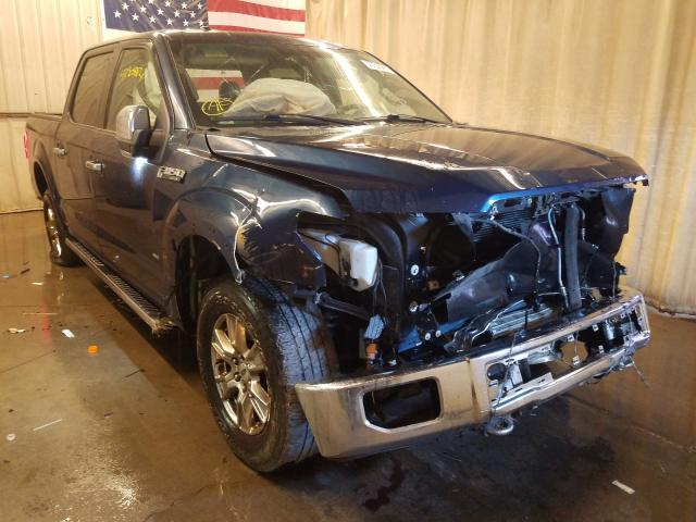 Salvage cars for sale from Copart Avon, MN: 2015 Ford F150 Super