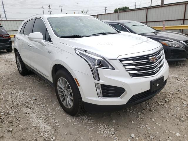Salvage cars for sale from Copart Haslet, TX: 2018 Cadillac XT5 Luxury
