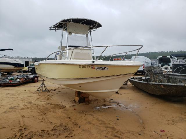 Salvage boats for sale at Gaston, SC auction: 2003 Scou Boat TRL