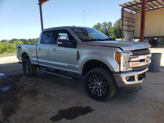 Salvage cars for sale from Copart Fairburn, GA: 2017 Ford F250 Super