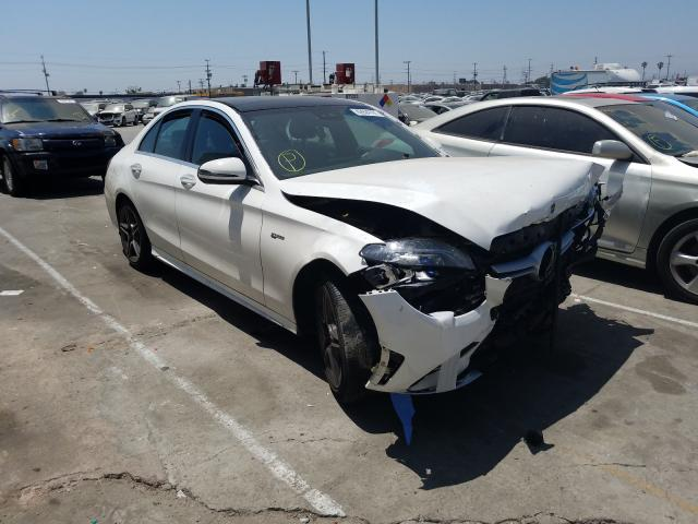 Mercedes-Benz salvage cars for sale: 2020 Mercedes-Benz C 43 AMG