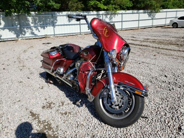 Salvage cars for sale from Copart Knightdale, NC: 2008 Harley-Davidson Flhtcui