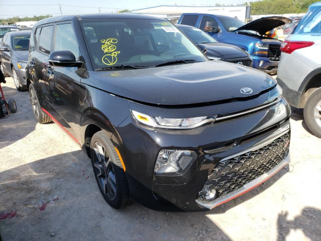 Salvage cars for sale from Copart Oklahoma City, OK: 2021 KIA Soul GT LI