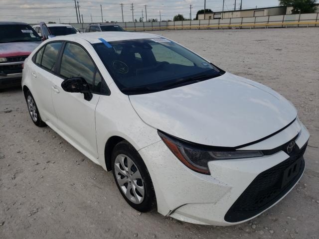Salvage cars for sale from Copart Haslet, TX: 2021 Toyota Corolla LE