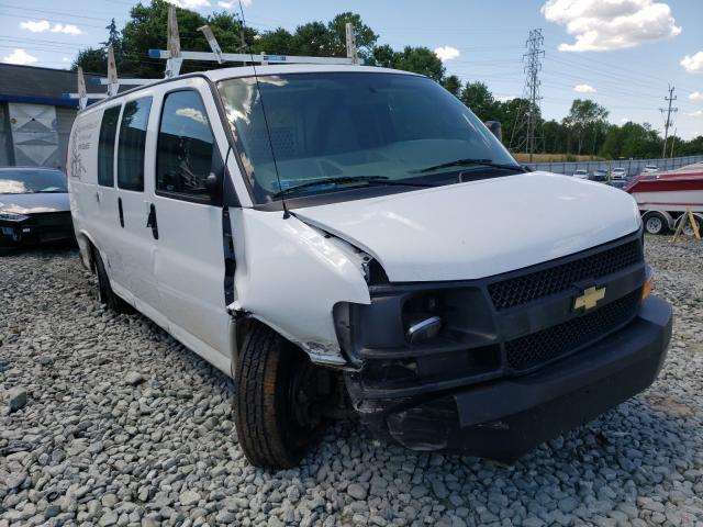 Vehiculos salvage en venta de Copart Mebane, NC: 2017 Chevrolet Express G2