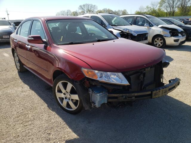 Salvage cars for sale from Copart Milwaukee, WI: 2009 KIA Optima LX