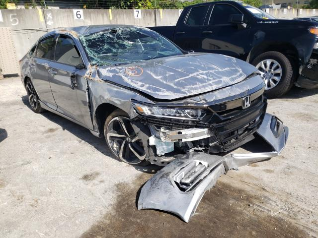 Salvage cars for sale from Copart Opa Locka, FL: 2020 Honda Accord Sport