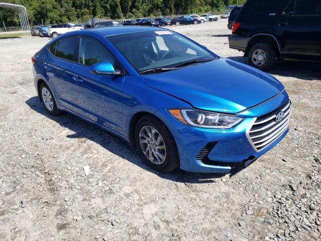 Salvage cars for sale from Copart Tifton, GA: 2018 Hyundai Elantra SE