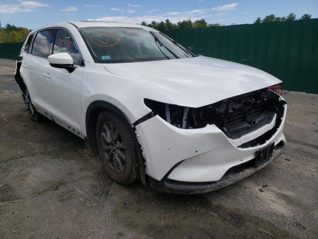 Salvage cars for sale from Copart Exeter, RI: 2021 Mazda CX-9 Touring