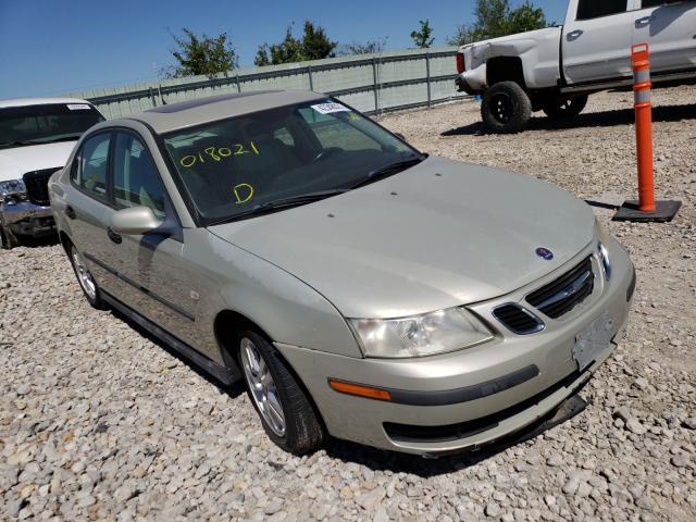 Saab salvage cars for sale: 2005 Saab 9-3