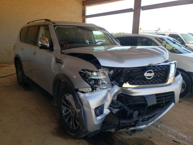 Salvage cars for sale from Copart Tanner, AL: 2018 Nissan Armada SV
