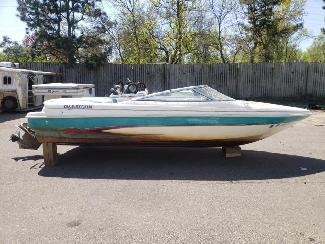Glastron salvage cars for sale: 1997 Glastron Boat With Trailer
