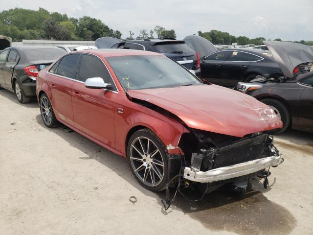 Salvage cars for sale from Copart Riverview, FL: 2013 Audi S4 Premium