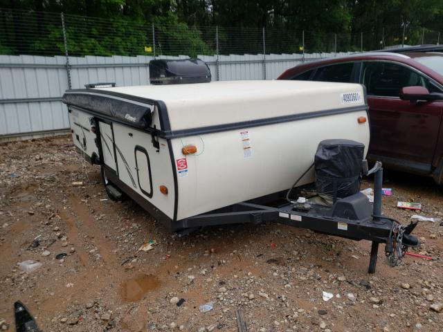 Salvage cars for sale from Copart Austell, GA: 2017 Wildwood Flagstaff