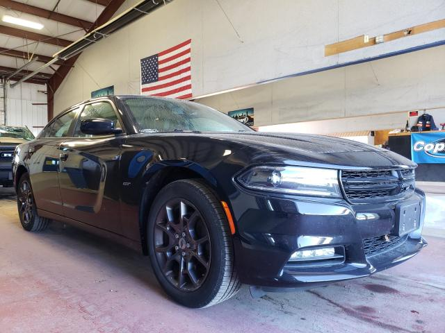 Salvage cars for sale from Copart Angola, NY: 2018 Dodge Charger GT