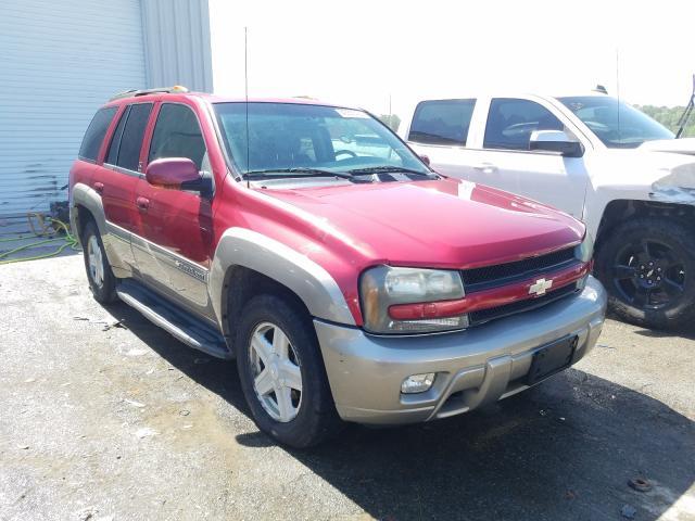 Vehiculos salvage en venta de Copart Savannah, GA: 2003 Chevrolet Trailblazer