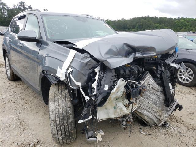 Salvage cars for sale from Copart Ellenwood, GA: 2019 Volkswagen Atlas SE