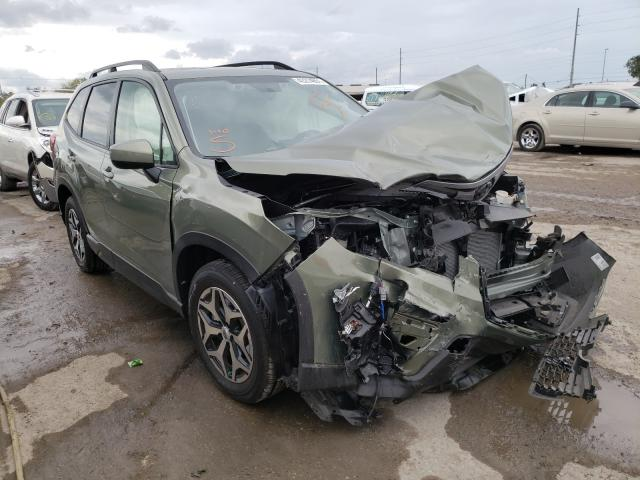 Salvage cars for sale from Copart Riverview, FL: 2021 Subaru Forester P
