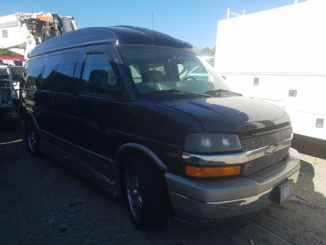Salvage cars for sale from Copart Glassboro, NJ: 2006 Chevrolet Express G1