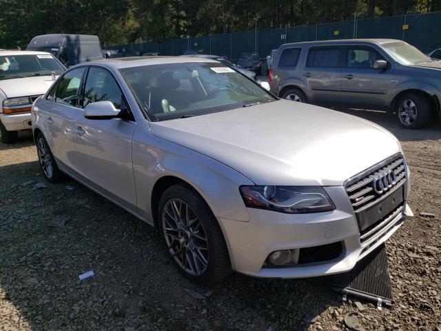 Vehiculos salvage en venta de Copart Graham, WA: 2010 Audi A4 Premium