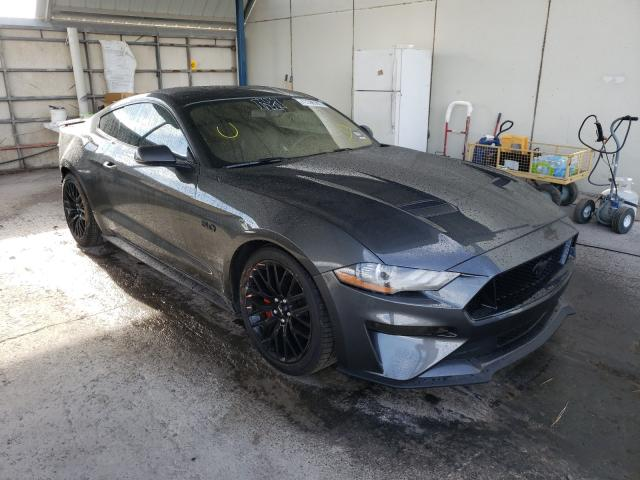 Ford salvage cars for sale: 2018 Ford Mustang GT
