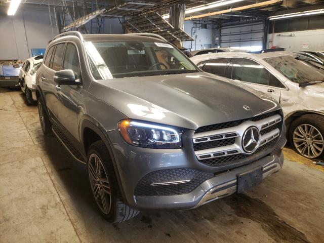 Salvage cars for sale from Copart Wheeling, IL: 2020 Mercedes-Benz GLS 450 4M