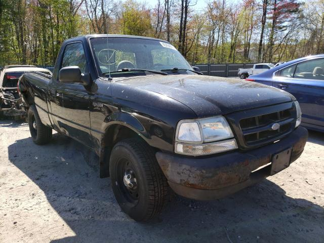 Salvage trucks for sale at Candia, NH auction: 2000 Ford Ranger