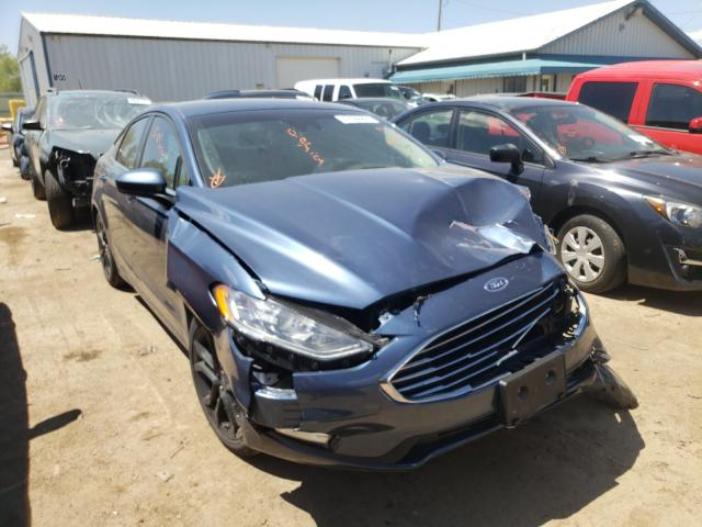 Salvage cars for sale from Copart Pekin, IL: 2019 Ford Fusion SE