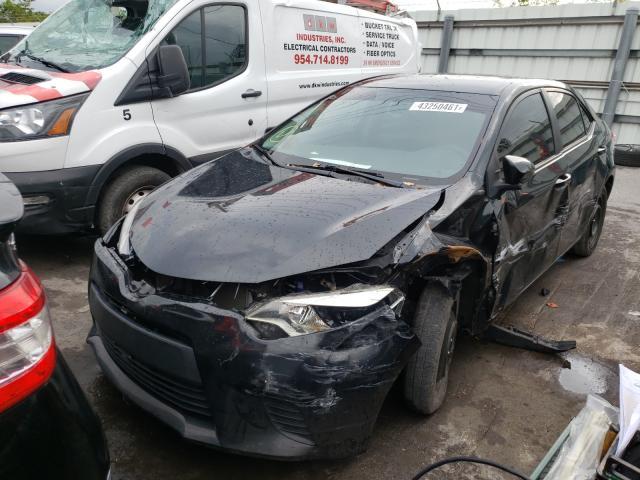 2014 Toyota Corolla L 1.8L, VIN: 5YFBURHE5EP******, аукцион: COPART, номер лота: 43250461