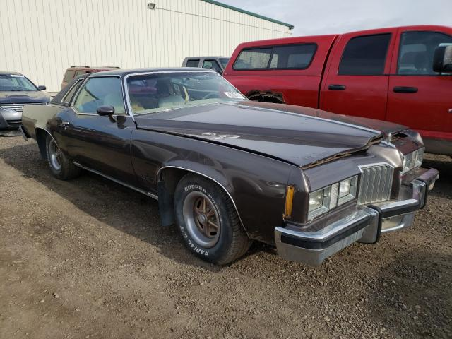 Salvage cars for sale from Copart Rocky View County, AB: 1977 Pontiac Gran Prix