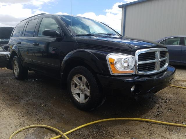 Salvage cars for sale from Copart Helena, MT: 2004 Dodge Durango SL