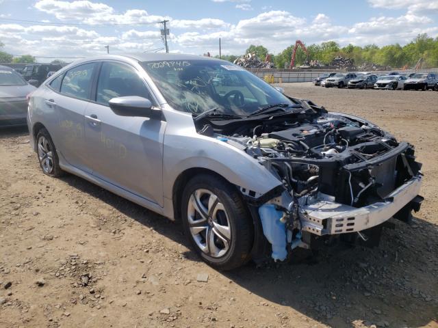Salvage cars for sale at Hillsborough, NJ auction: 2018 Honda Civic LX